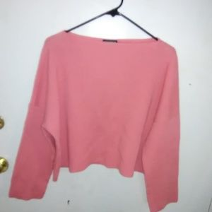 Vintage Polo Jeans Cropped cut sweater